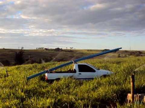 Projeto de irrigação de pastagens