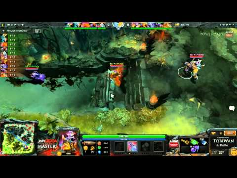 Na'Vi vs Kaipi Game 2 - joinDOTA DOTA 2 Masters Grand Final - TobiWan