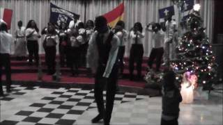 Azonto dance in Ghanian churches