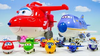 Move Out!SuperWings HoGi TransForming Base!!