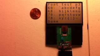 Sharp 2 7 memory LCD demo 720p
