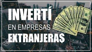 INVERTÍ EN ACCIONES EXTRANJERAS en dolares 💸 (CEDEARS) | Emprender Simple