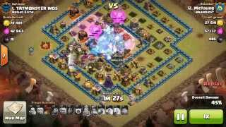 Watch and Learn! TH 10 3 stars clash of clans (Metaurg)