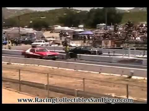 Smokey The Bandit Trans Am Drag Racing Barona Drag Strip