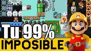 NIVELES BRUTALÍSIMOS DE SUBS 😯😲😨 - 99% IMPOSIBLES de Suscriptores #27 | Super Mario Maker - ZetaSSJ