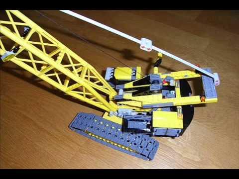 Lego City Crane Lego City 7632 Crawler Crane 2