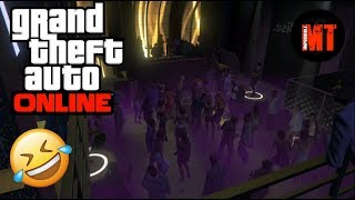 GTA Online Funny Moments - MACBETH WHISKEY, NIGHTCLUBS & CHAMPAGNE!