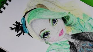 Faybelle Thorn - Ever After High - Mattel - CDH56 - Speed Drawing