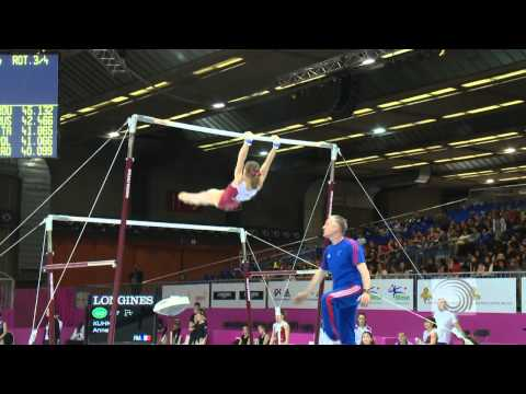 2012 European Championships Brussels 2012, Anne KUHM (FRA) Uneven Bars