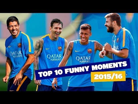 FC Barcelona's TOP 10 funny moments (season 2015/16)
