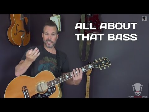 All About That Bass By Meghan Trainor - Guitar Lesson video