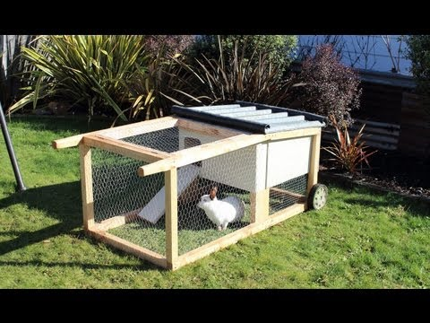 How to build a house-on-wheels for rabbits. guinea pigs & other small aniimals
