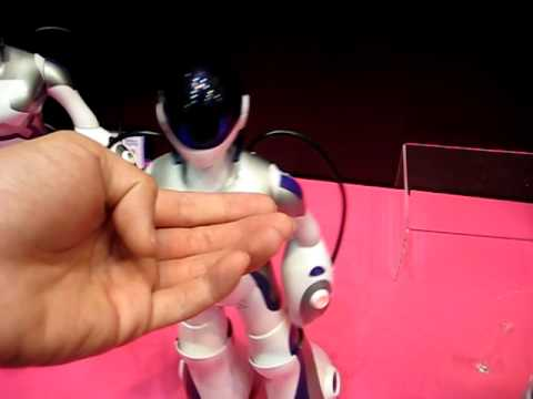 Sega Toys EMA,  a female humanoid, seeks for KISS