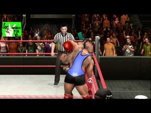 WWE Smackdown Vs Raw 2010 Road To Wrestlemania: CAW Pt.1