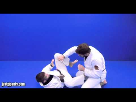 Omoplata from Open Guard #2 BJJ Technique | Justgipants.com Image 1