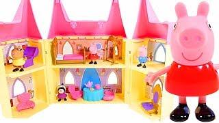 Mejores Videos Para Niños - Peppa Pig Castle Fun Videos For Kids