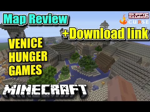 MINECRAFT - PS3 - VENICE HUNGER GAMES MAP REVIEW + DOWNLOAD LINK ( PS4 ) TU19 SERVER UPDATE