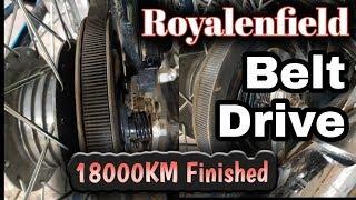 RoyalEnfield beltdrive 18000 KM Finish