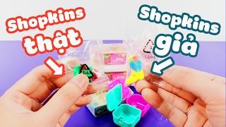 CẢNH BÁO: đồ chơi Shopkins giả @_@ và cách nhận biết !!!! - ToyStation 26