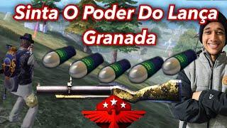 ACHEI 5 BALAS DE LANÇA GRANADA NA RANQUEADA, PARTIDA HARD! DO FREE FIRE