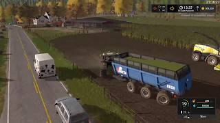 Farming Simulator 17 Timelapse #39   South Mountain Creamery.