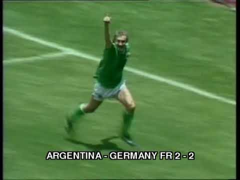 1986 WC final  Argentina - Germany FR  3:2