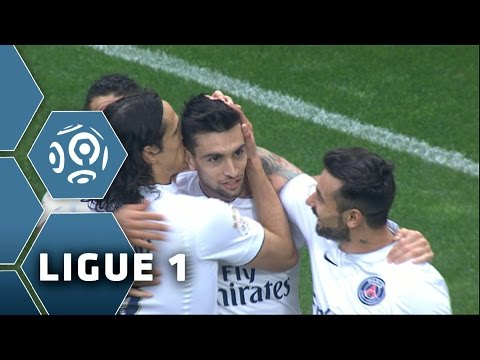 Javier PASTORE's superb double for PSG Vs OGC Nice Week 33 / 2014-15