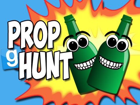 Prop Hunt with the Crew! - Whooping Bottles! (Garry's Mod Funny Moments!)