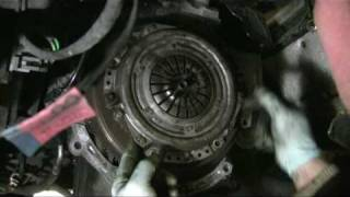 Diaphragm clutch alignment How to do it without a tool just by eye no alignment tool needed