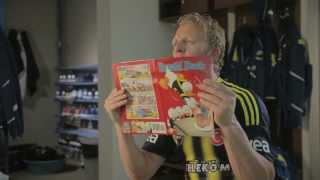 Donald Duck TVC featuring Dirk Kuyt