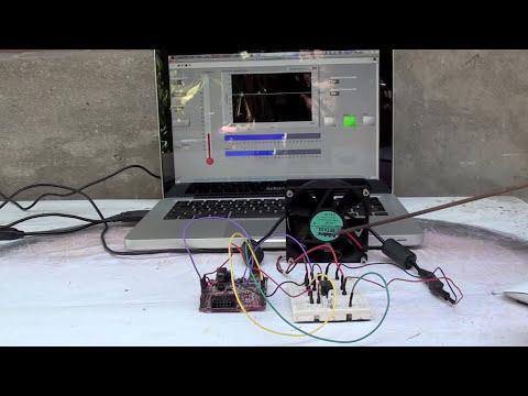Sensor de temperatura con LM35 Arduino, Labview y MAC