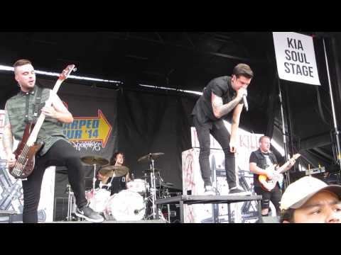 Ice Nine Kills - Someone Like You Live at Vans Warped Tour 2014