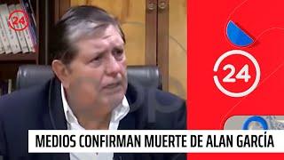 Medios peruanos informan muerte de Alan García tras dispararse en medio de detención