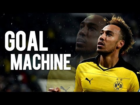 Pierre-Emerick Aubameyang - Goal Machine | All Goals 2015/2016 | HD