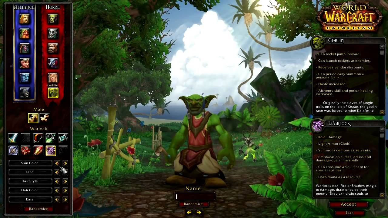 World of warcraft character creation female videos naked picture