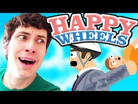 THROW THE CHILDREN - Happy Wheels