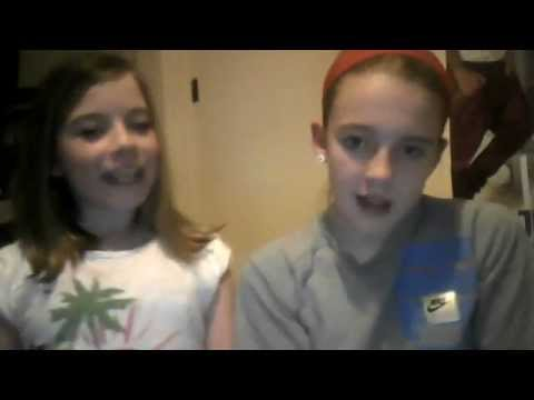 rachel and millie singing super bass nicki minaj xxx