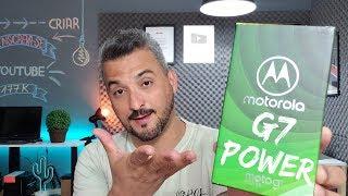 Motorola Moto G7 Power UNBOXING e Tour Completo pelo APARELHO!
