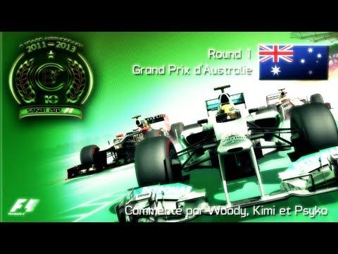 CBF 360 | F1 2012 World Championship | Season 10 - Round 1 : Australian GP (Gameplay/Commentary)