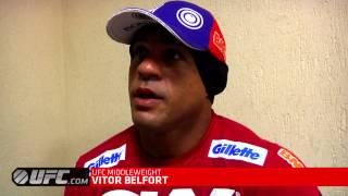 UFC on FX 8: Open Workout Main Event Highlight