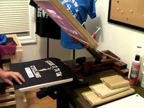 Homemade Screen Printing Flash Conveyor Dryer Part 2 Youtube
