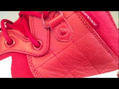 nike Air Force 1 Duckboot Qs - Xxx Anniversary - Gym Red   White... video