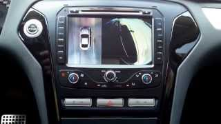 mondeo mk4 android A9 dvd+環景泊車視頻切換  demo