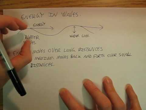 BMAPhysics 11L Brief look at energy transfer in waves.