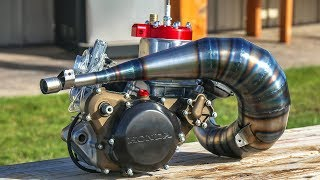 Incredible Two Stroke Engine Build!
