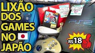 Conheça o LIXÃO DOS GAMES no JAPÃO - Hard Off Junk