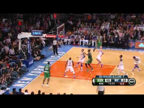 NBA Playoffs 2013: NBA Boston Celtics Vs New York Knicks Highlights May 1, 2013 Game 5