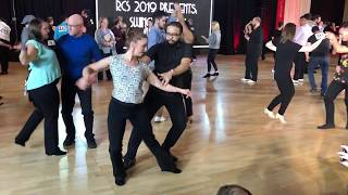 Rose City Swing 2019 - Advanced Prelims - Molly King + Dwight Clark