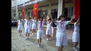 chi đội lớp 9 Trường THCS Hòa Khánh CB_TG
