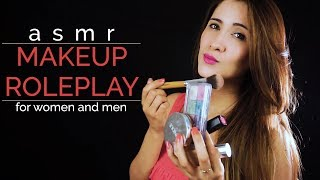 MAKEUP ROLEPLAY for men and women. Spanish asmr